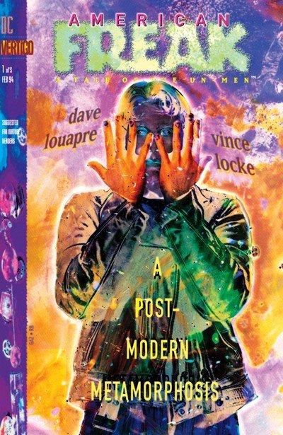 American Freak – A Tale of the Un-Men #1 – 5 (1994)