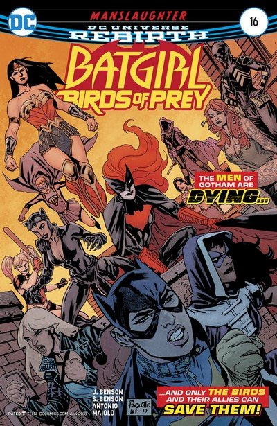 Batgirl and the Birds of Prey #16 (2017)