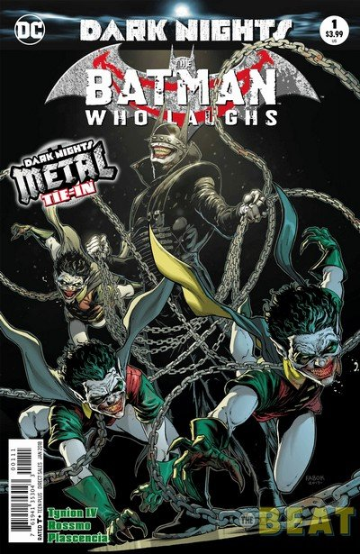 Batman Who Laughs #1 (Preview) (2017)