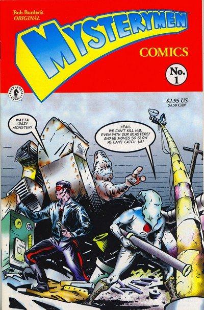 Bob Burden's Original Mysterymen Comics #1 – 4 (1999)