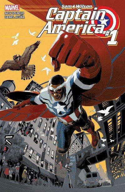 Captain America – Sam Wilson #1 – 24 + TPB Vol. 1 – 5 (2015-2017)