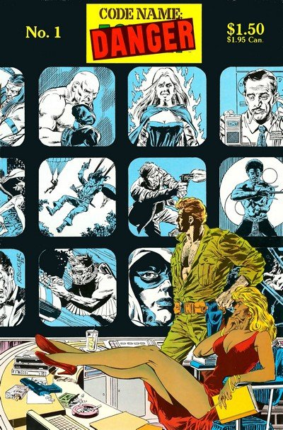Codename Danger #1 – 4 (1985)