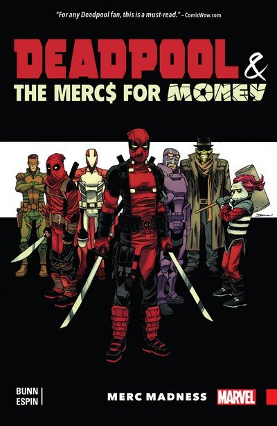 Deadpool & the Mercs For Money Vol. 0 – 2 (TPB) (2016-2017)