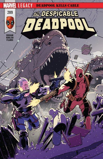Despicable Deadpool #289 (2017)