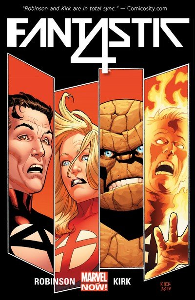 Fantastic Four Vol. 5 TPBs (Vol. 1 – 4) (2014-2015)