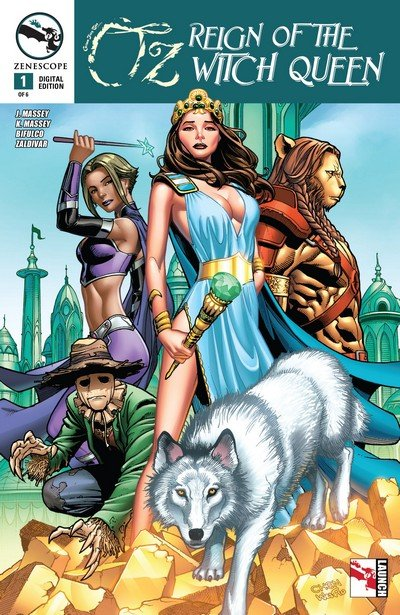 GFT presents Oz – Reign of the Witch Queen #1 – 6 (2015)