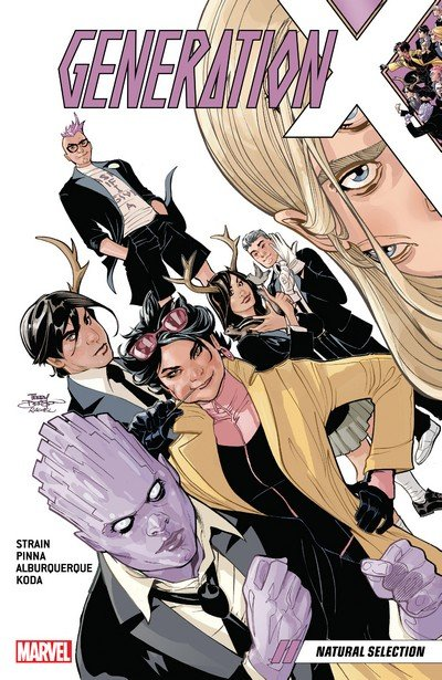 Generation X Vol. 1 – Natural Selection (TPB) (2017)