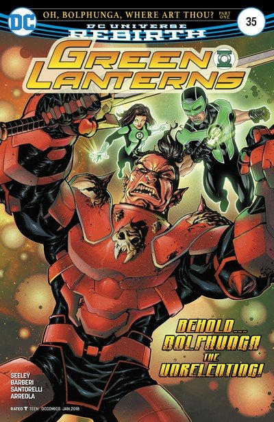 Green Lanterns #35 (2017)