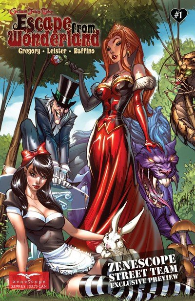 Grimm Fairy Tales – Escape From Wonderland #0 – 6 (2009-2010)