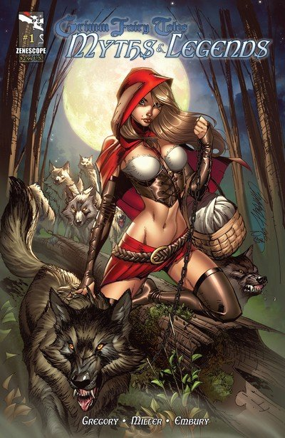 Grimm Fairy Tales Myths & Legends #1 – 25 (2011-2013)