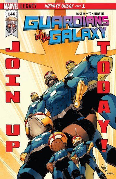 Guardians of the Galaxy Vol. 5 #146 – 150 (2017-2018)