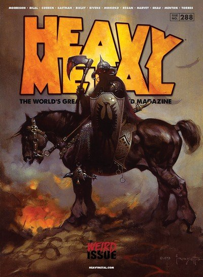Heavy Metal #288 (2017)