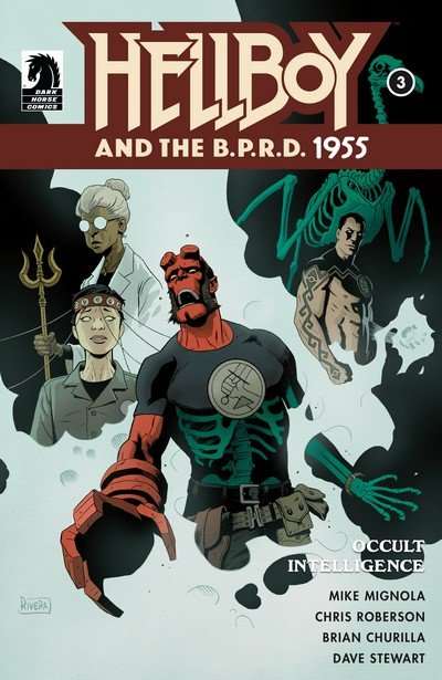 Hellboy and the B.P.R.D. – 1955 – Occult Intelligence #3 (2017)