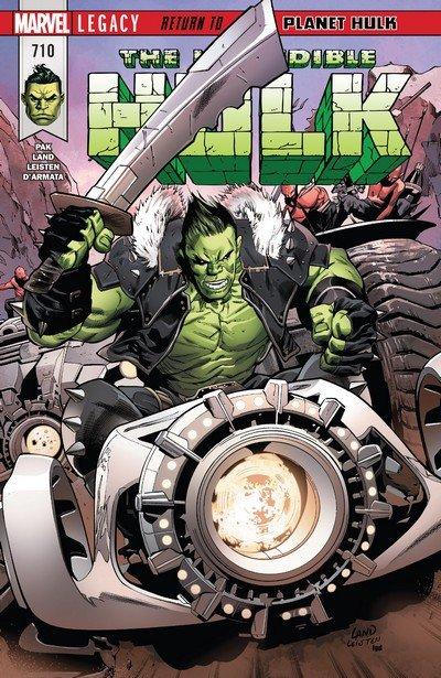 Incredible Hulk #710 (2017)