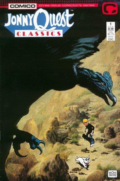 Jonny Quest Classics #1 – 3 (1987)