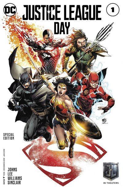 Justice League #1 – Justice League Day 2017 Special Edition