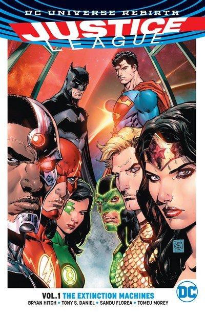 Justice League Vol. 1 – The Extinction Machines (TPB) (2017)