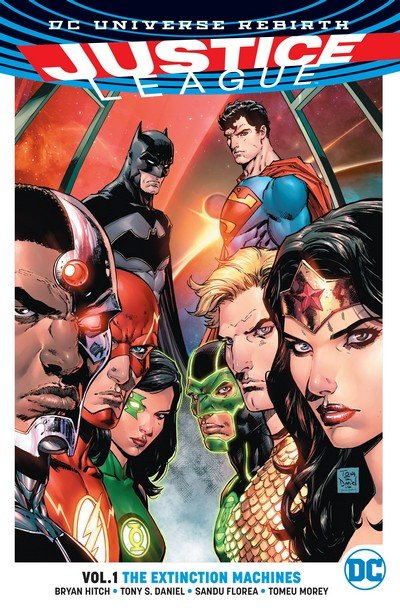Justice League Vol. 1 – The Extinction Machines (TPB) (2017)