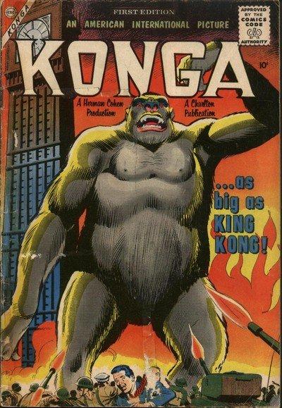 Konga #1 – 23 (1960-1965)