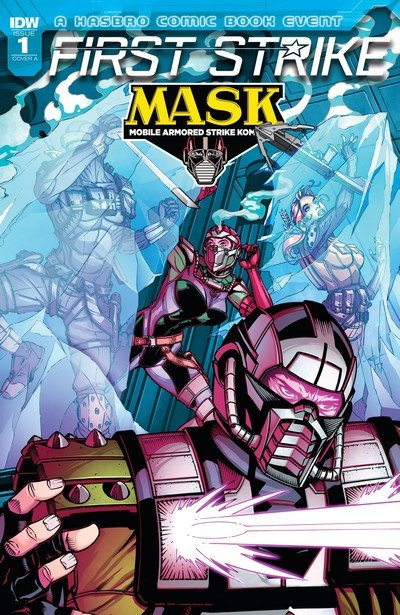 M.A.S.K. First Strike #1 (2017)