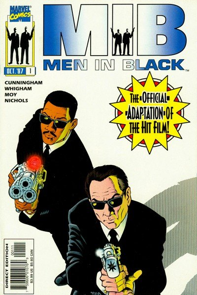 Men in Black Vol. 1 – 2 + Extras (Collection) (1990-1997)