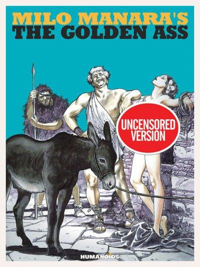 Milo Manara's The Golden Ass (2016)