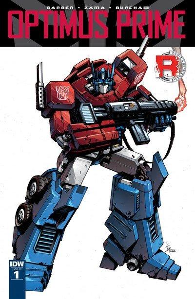 Optimus Prime #1 – 25 + TPBs (2016-2019)