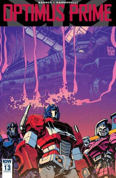 Optimus Prime #13 (2017)