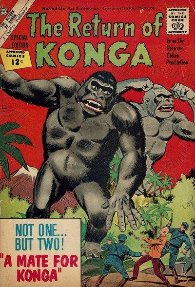 Return of Konga (Charlton) (1962)