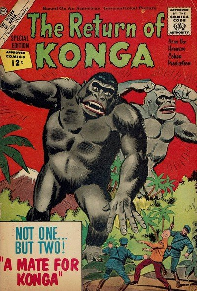 Return of Konga (Charlton) (1962)