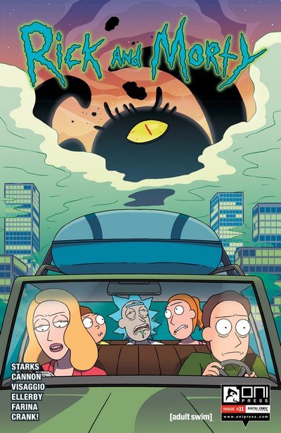 Rick and Morty #31 (2017)