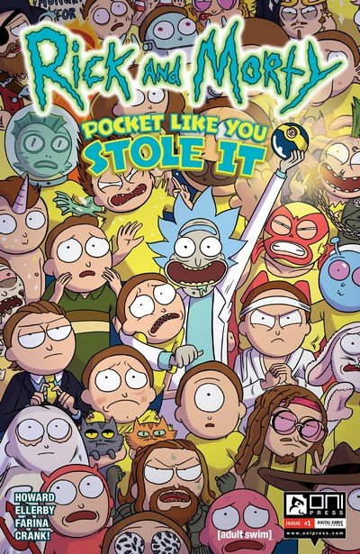 Rick and Morty – Pocket Like You Stole It #1 – 5 (2017)