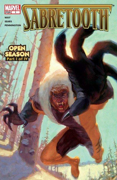 Sabretooth #1 – 4 (2004)