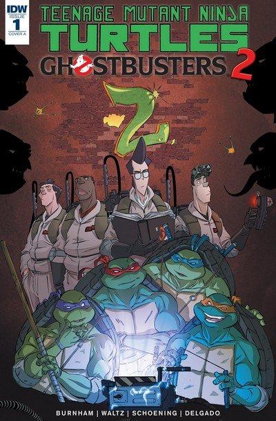 Teenage Mutant Ninja Turtles-Ghostbusters II #1 (2017)