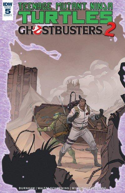 Teenage Mutant Ninja Turtles-Ghostbusters II #5 (2017)