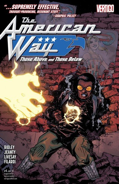 The American Way – Those Above and Those Below #4 (2017)