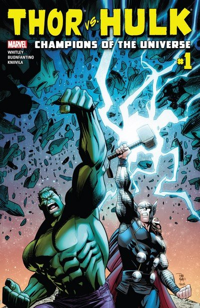 Thor vs. Hulk – Champions of the Universe #1 – 6 (2017)