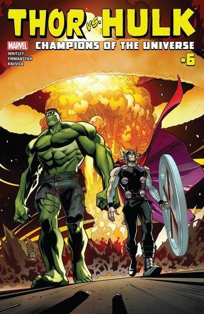 Thor vs. Hulk – Champions of the Universe #6 (2017)