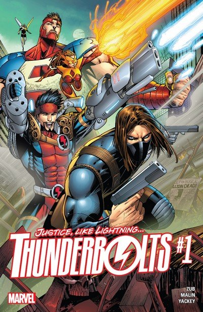 Thunderbolts Vol. 3 #1 – 12 + TPB Vol. 1 – 2 (2016-2017)