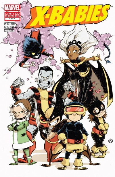 X-Babies #1 – 4 (2009-2010)