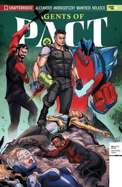 Agents of P.A.C.T. #4 (2017)