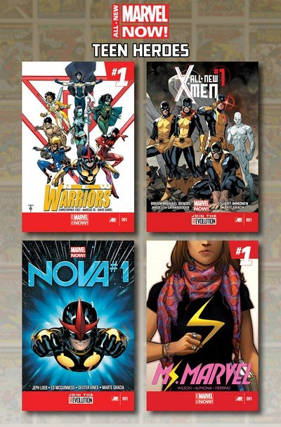 All-New Marvel Now! Teen Heroes (TPB) (2014)