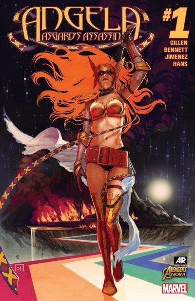 Angela – Asgard's Assassin Vol. 1 #1 – 6 (2015)