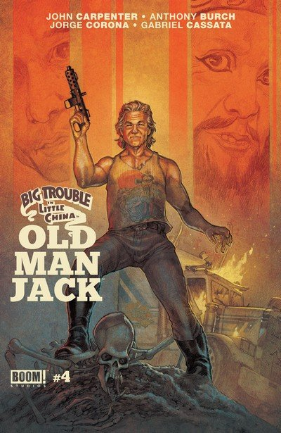Big Trouble In Little China Old Man Jack #4 (2017)