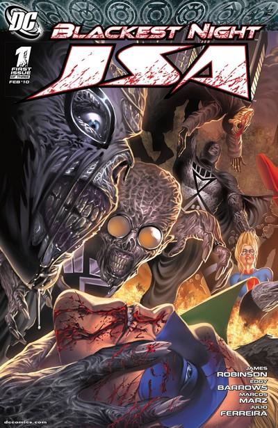 Blackest Night – JSA #1 – 3 (2010)