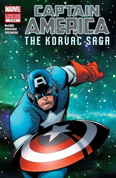 Captain America & the Korvac Saga #1 – 4 (2010)