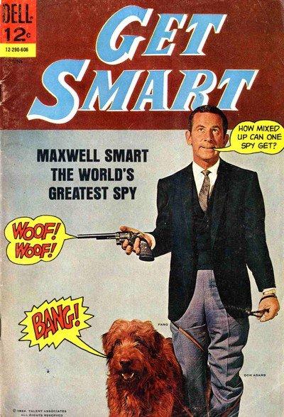 Get Smart #1 – 8 (Dell) (1966-1969)