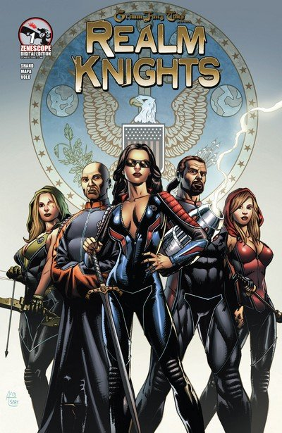 Grimm Fairy Tales presents Realm Knights #1 – 4 (2013)