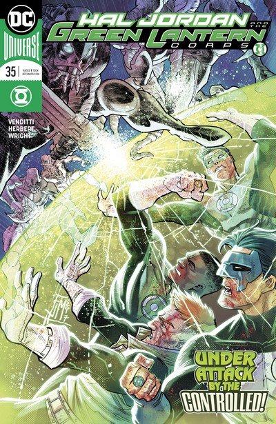 Hal Jordan and the Green Lantern Corps #35 (2017)