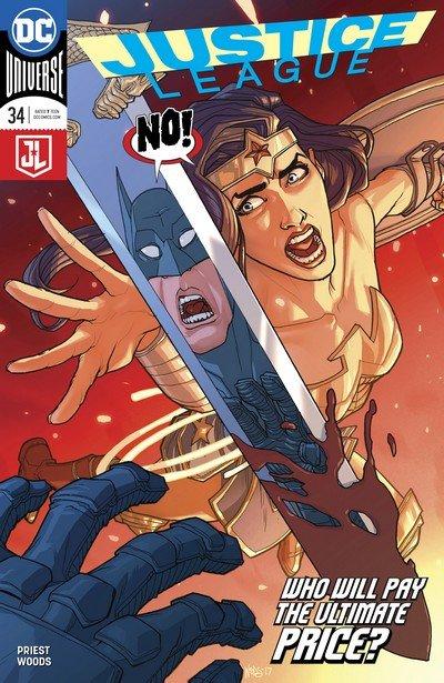 Justice League #34 (2017)
